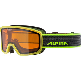 Alpina Scarabeo S DH Lunettes de protection, yellow translucent